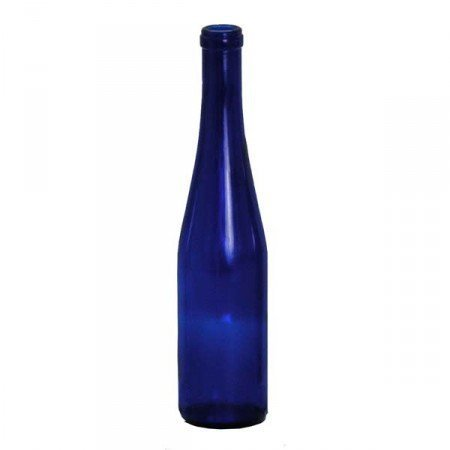 375 ML Stretch Cobalt Bottle Blue Hock 24/Case