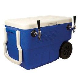 Foxx Equipment Jockey box Coil Cooler, 2-fct 50' (Blue)