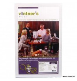 Vintner's Best Wine Equipment Kit W/Double Lever Corker