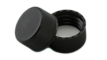 24mm CT Plastic Black Matte Cap F217 liner