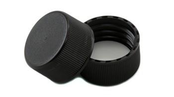 24mm CT Plastic Black Matte Cap F217 liner