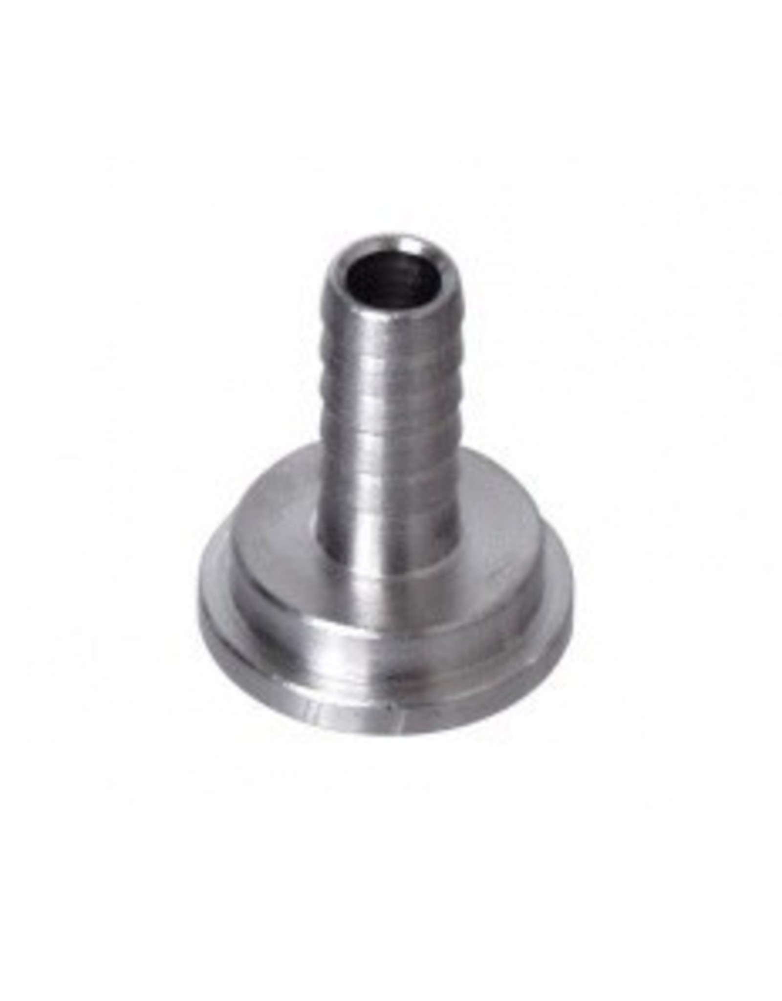 Foxx Equipment Stainless 1/4 Tailpiece (RIGHT ONE!!!)