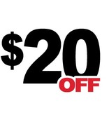 20 Dollar Off Coupon (DD)