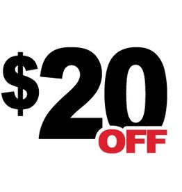 20 Dollar Off Coupon (DD)