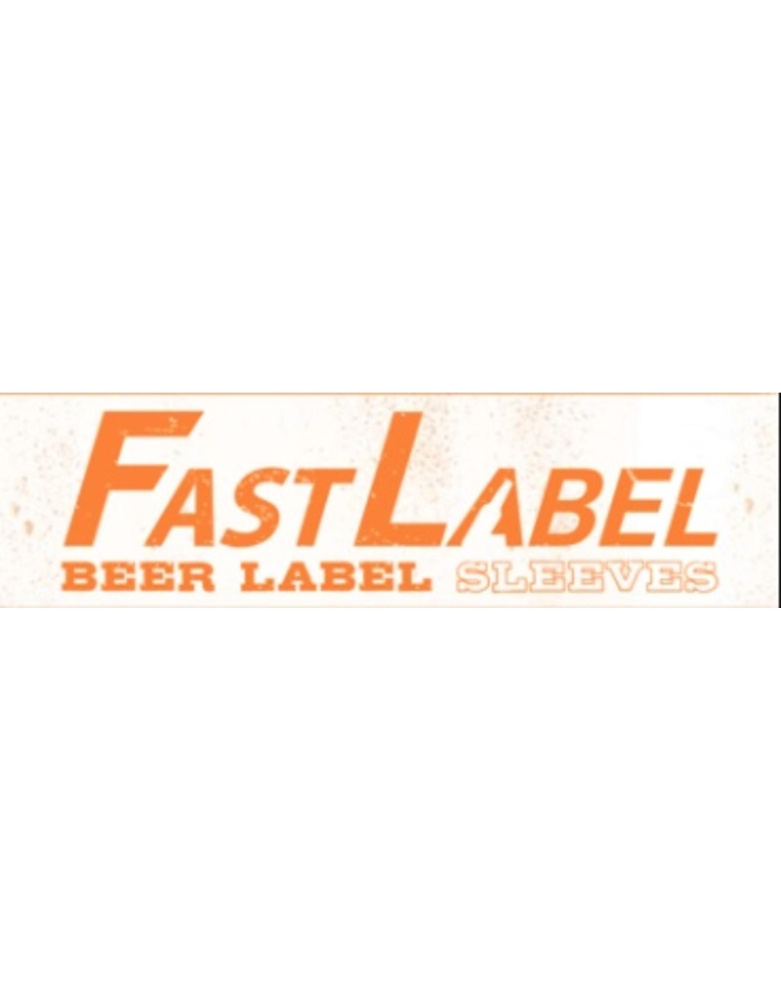 FastLabel 16-26 oz. Wine/Bomber Label (pack of 50)