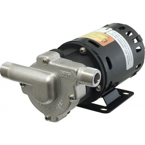 1/2'' 115v Stainless Inline Chugger Pump