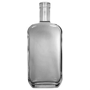 750 ml Flint Nashville Design Spirit Bottle Single