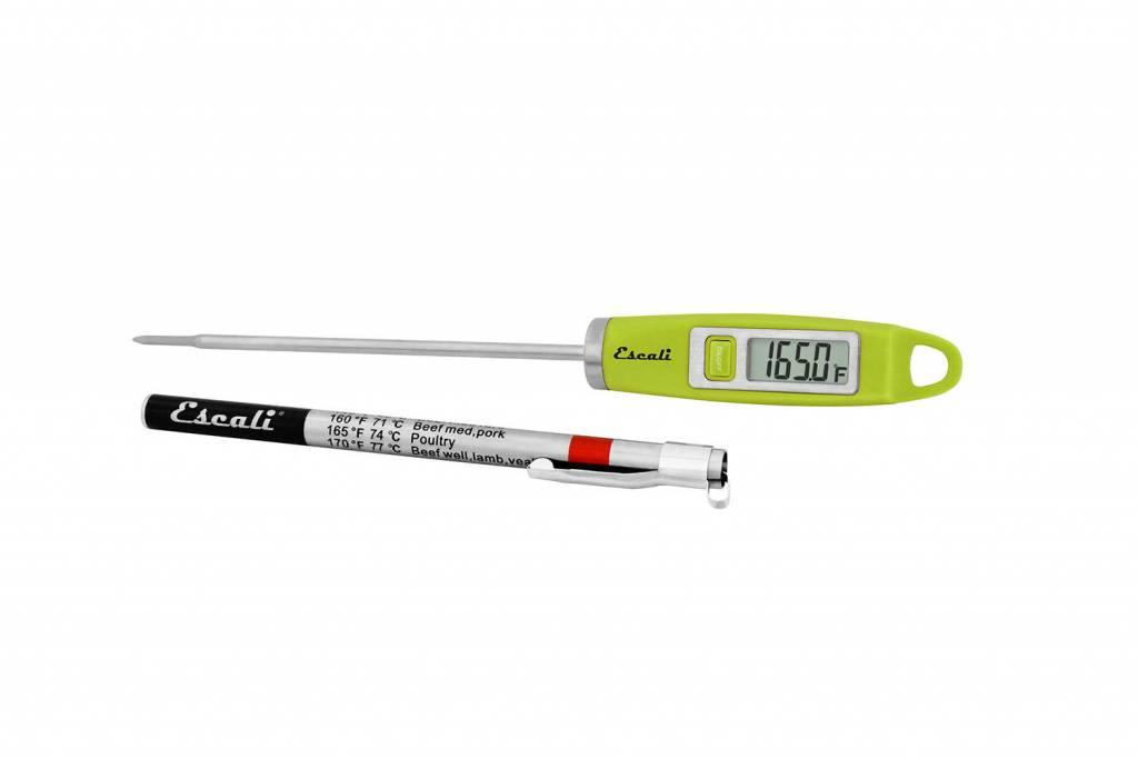 Escali Digital Thermometer - Green
