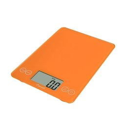 Escali Arti Digital Glass Scale - Overly Orange