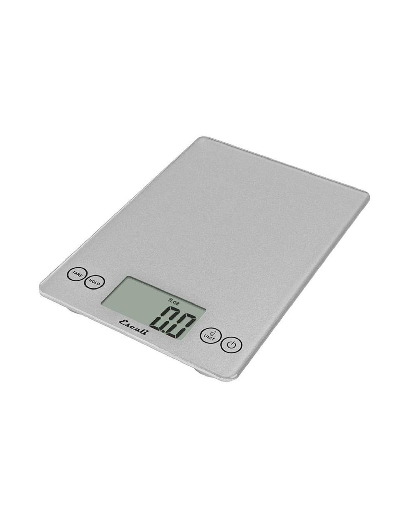 Escali Arti Digital Glass Scale - Shiny Silver