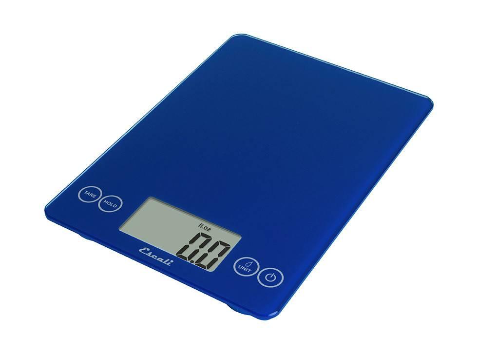 Escali Arti Digital Glass Scale - Blue Mirage