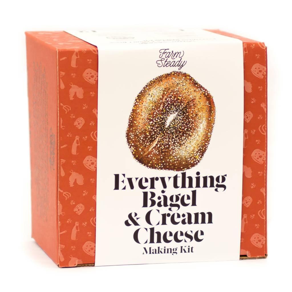 Farmsteady Everything Bagel & Cream Cheese Making Kit