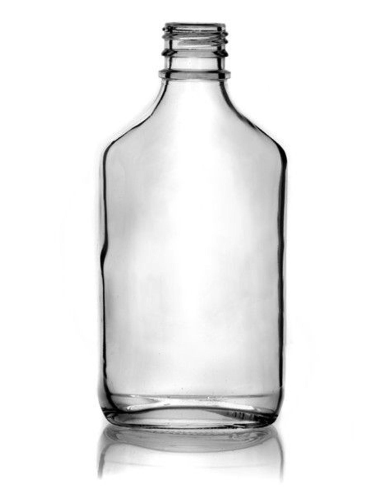 Clear Glass 200 ml Flask