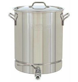 Bayou Classic 10 Gallon Kettle with Spigot Only