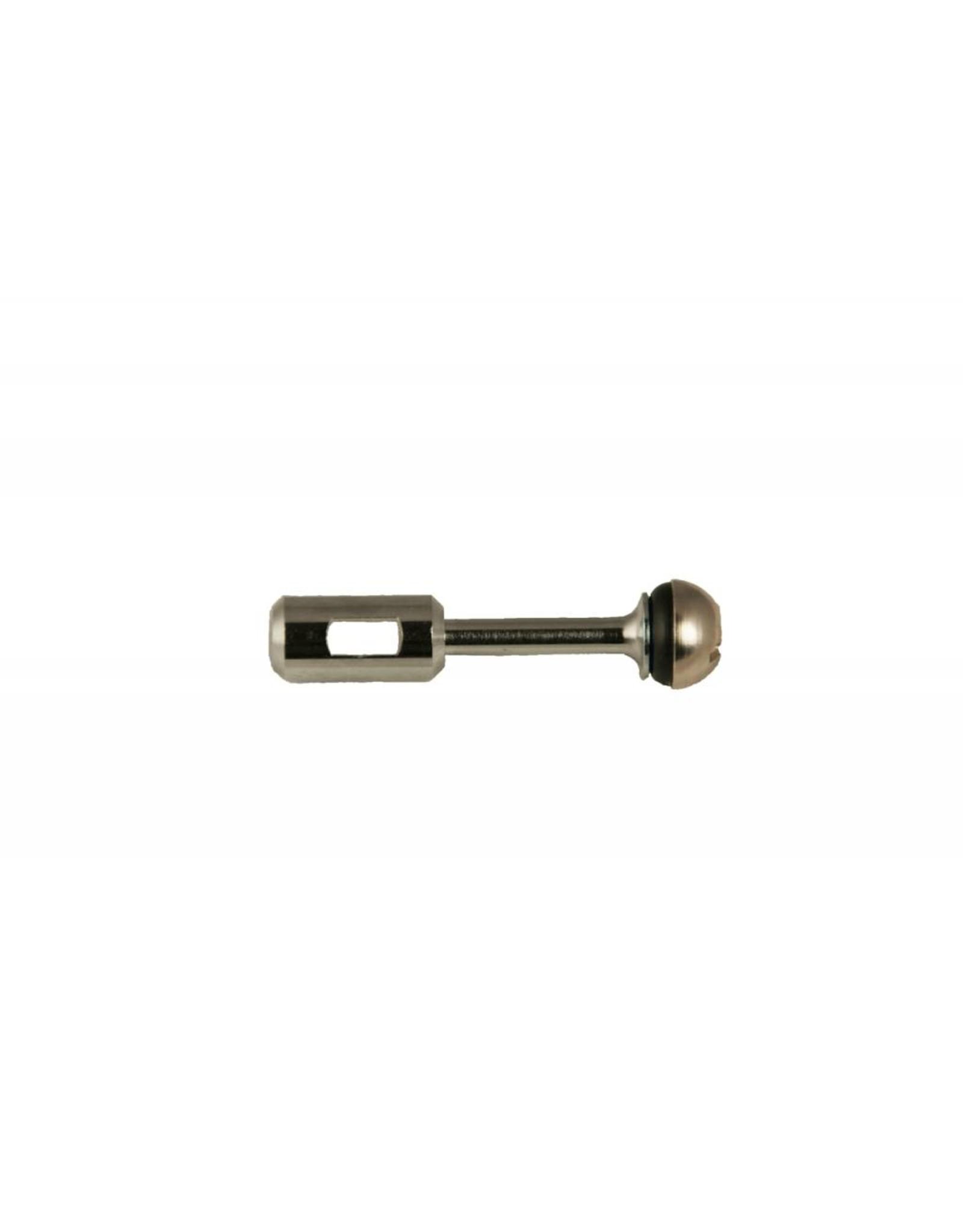 Foxx Equipment Beer Faucet Plunger Assembly (Chrome)