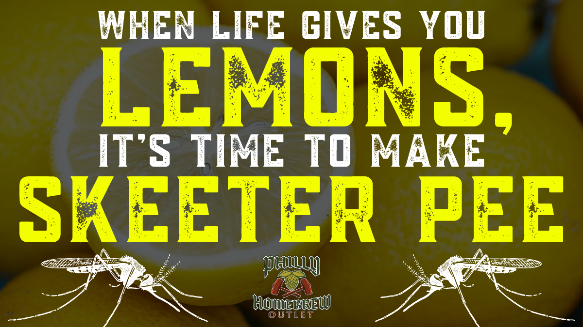 How to Make Skeeter Pee