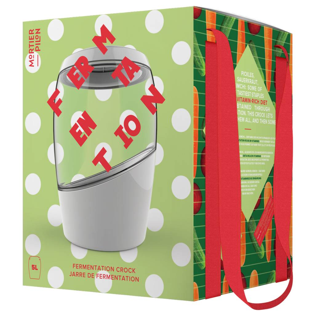 5 Liter Fermentation Crock - Mortier Pilon
