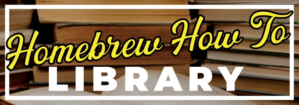 Homebrew How To Library
