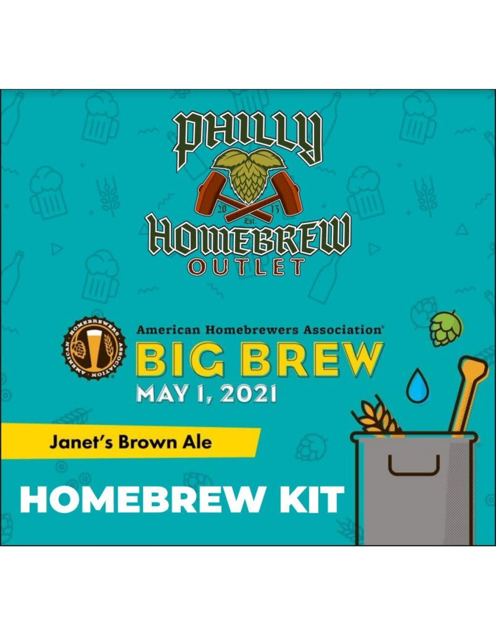 BBD '21 Janet's Brown Ale Extract Kit