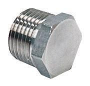 1/2'' NPT SS Hex Plug for Kettles