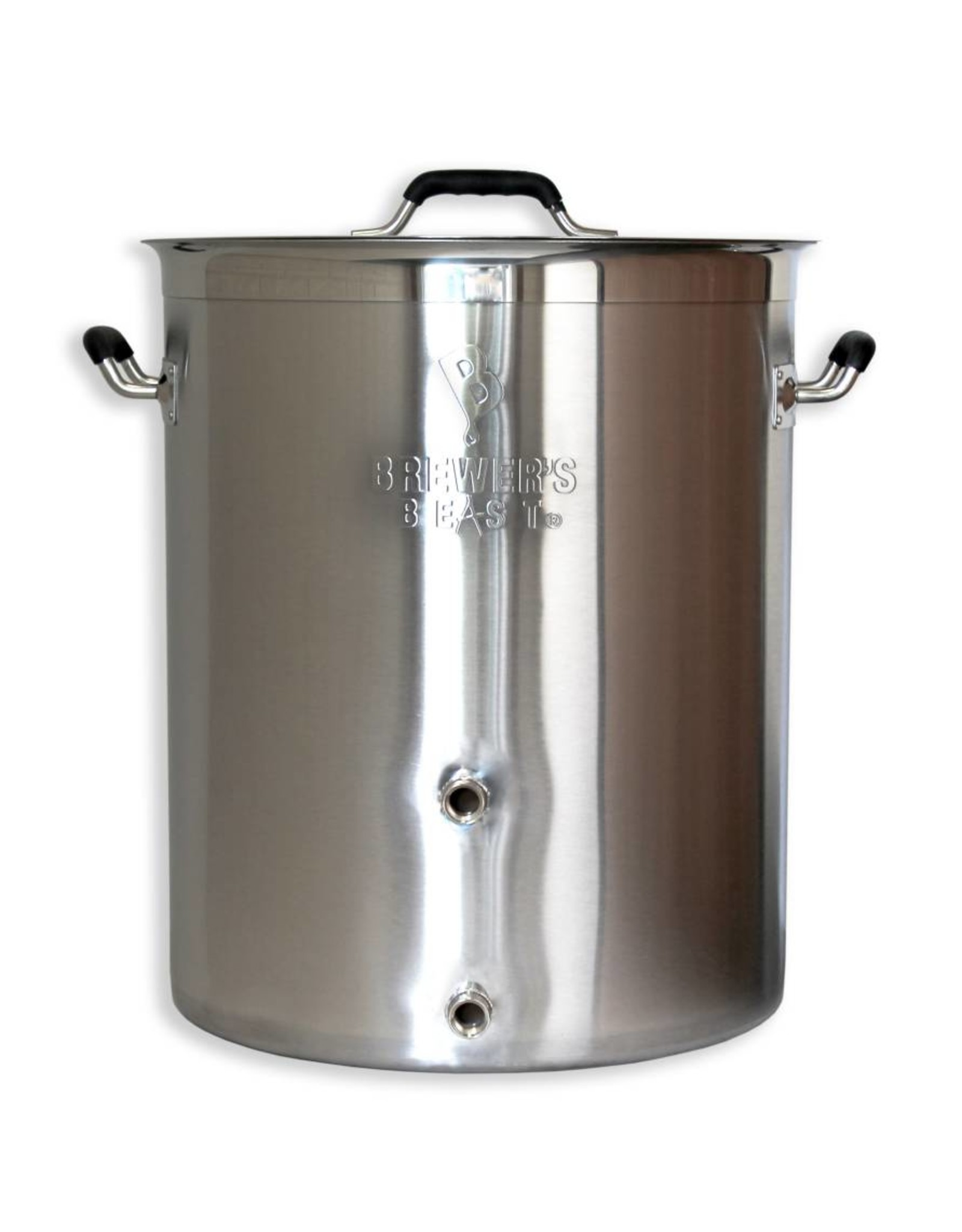 16 Gallon Brewers Beast Brewing Kettle W/ Two Ports
