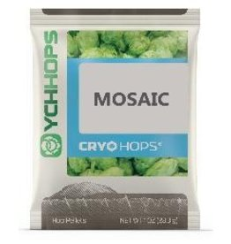 YCHHOPS Mosaic Cryo (US) Pellet Hops LupuLN2 1oz