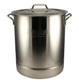 40-Qt. Bayou Classic Brew Kettle, stockpot and lid
