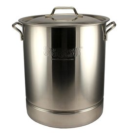 40-Qt. Bayou Classic Brew Kettle, stockpot and lid