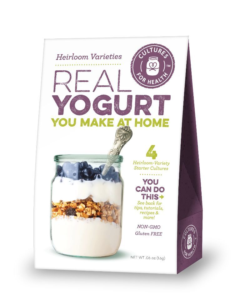 Yogurt (Heirloom Varities) Starter Culture (Cultures for Health)