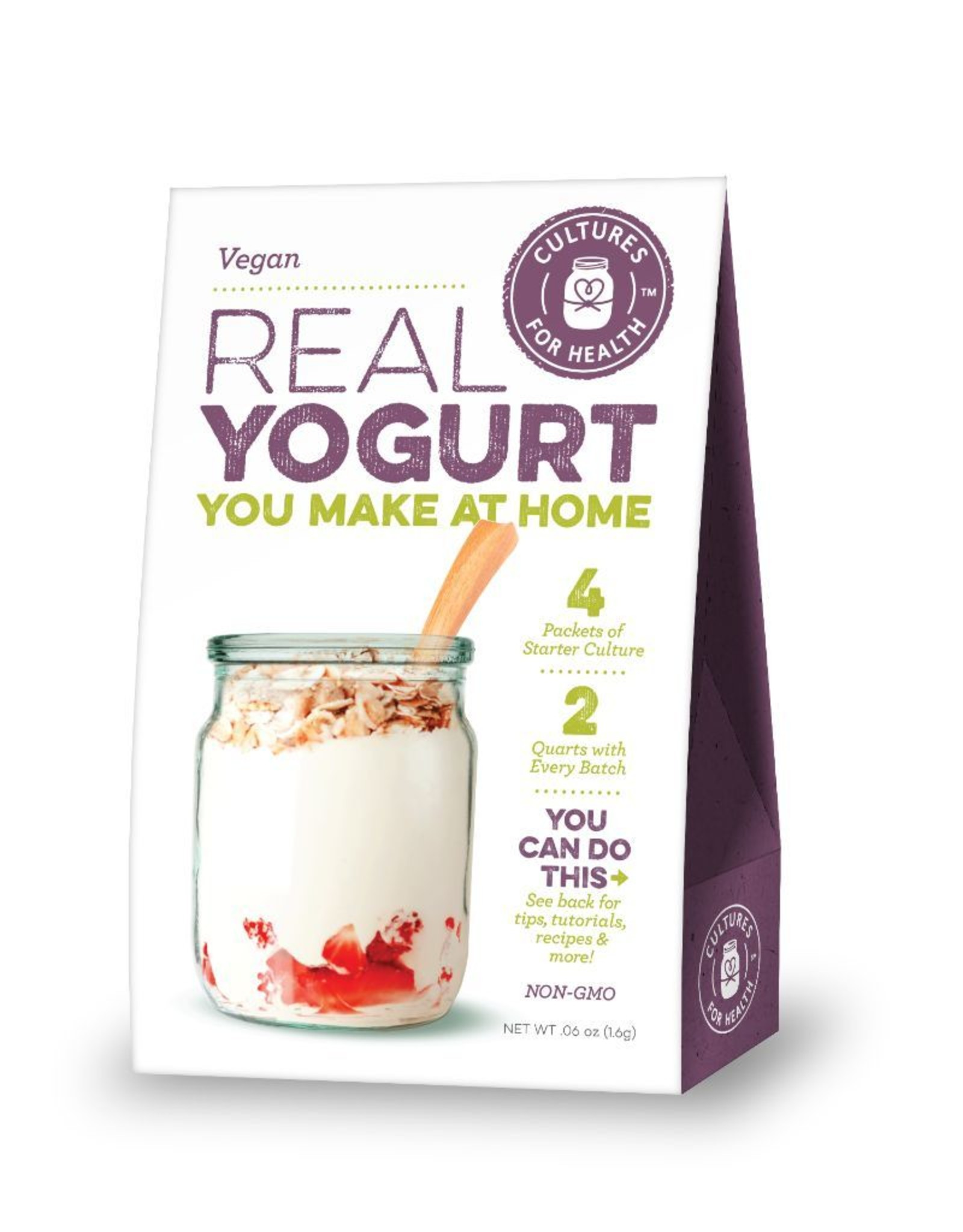 Yogurt (Vegan) Starter Culture (Cultures for Health)