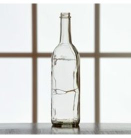 750 ML Clear Screwtop Bottles