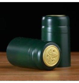 Green PVC Shrink 500 Pack