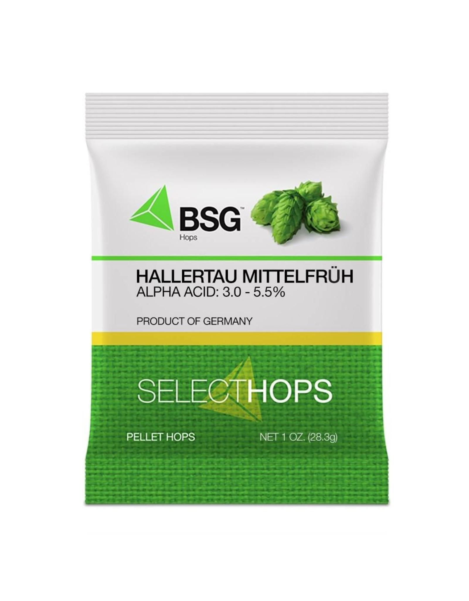 Hallertau Mittelfruh (GR) Pellet Hops 1oz