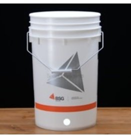 6.5 Gallon Bucket, Drilled for Spigot w/ Hole