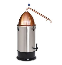 Alembic Pot Still with T500 Boiler (110 Volt) Still Spirits Copper Pot Still Alembic Dome Top