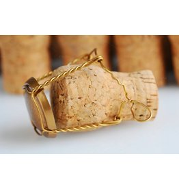 Champagne Corks & Cages (EURO Champagne Bottles) 12ct