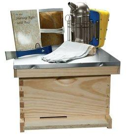 Beeginner 10 Frame  Traditional Basic Starter Kit - Wood Frames