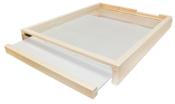10 Frame Bottom Board Varroa Trap with Drawer