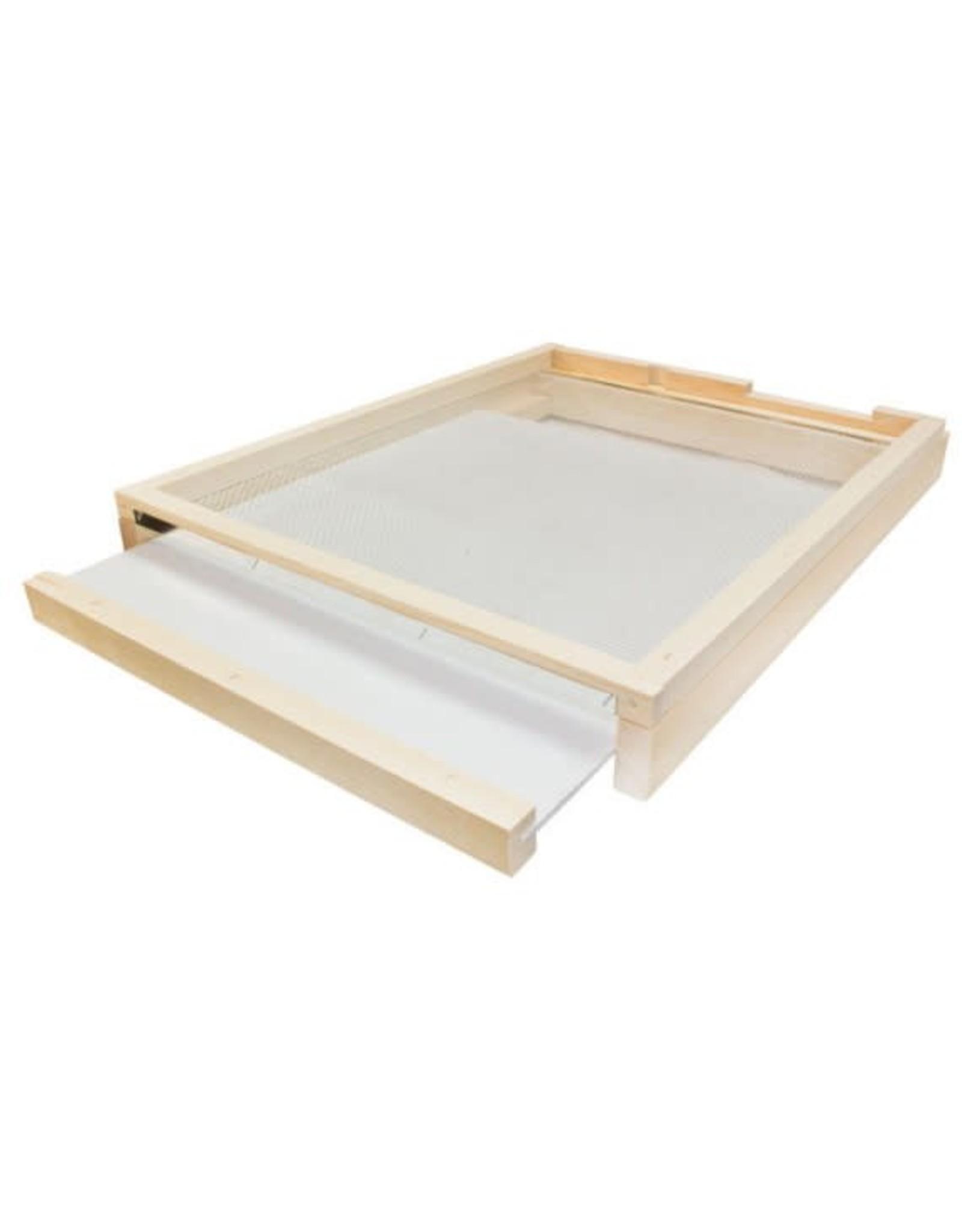 10 Frame Bottom Board Varroa Trap