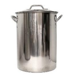 8 Gallon BB Basic Brewing Kettle SS
