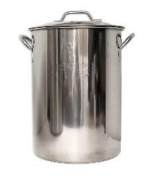 8 Gallon BB Basic Brewing Kettle SS