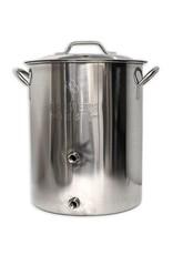 16 Gallon BB Basic Brewing Kettle w/ 2 Ports