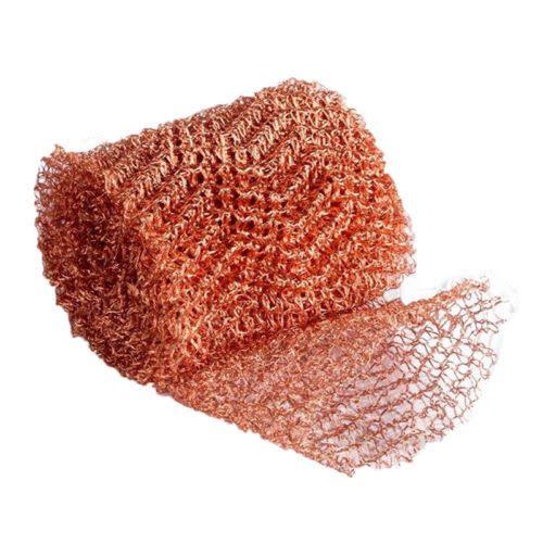 Copper Mesh Roll 1lb 20ft