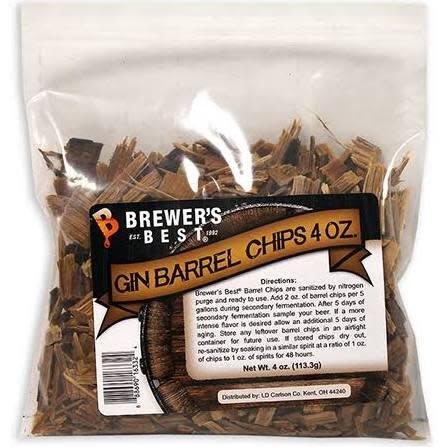 BB Gin Barrel Chips 4 oz