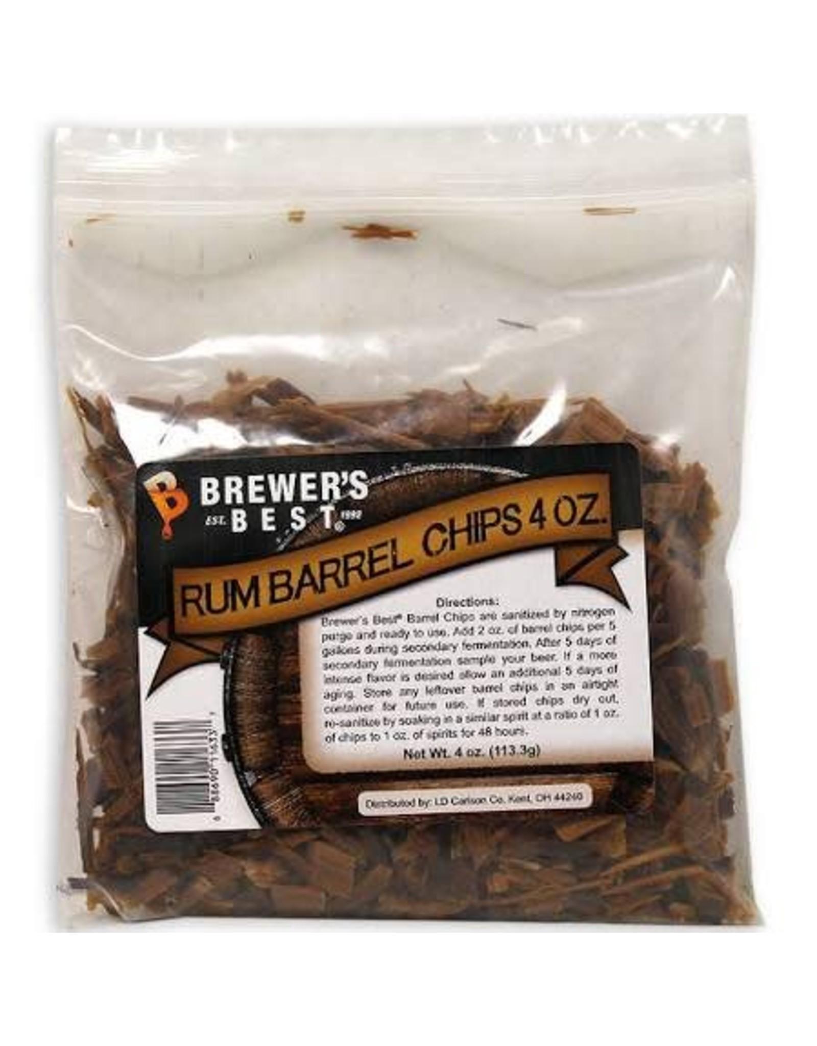 BB Rum Barrel Chips 4oz