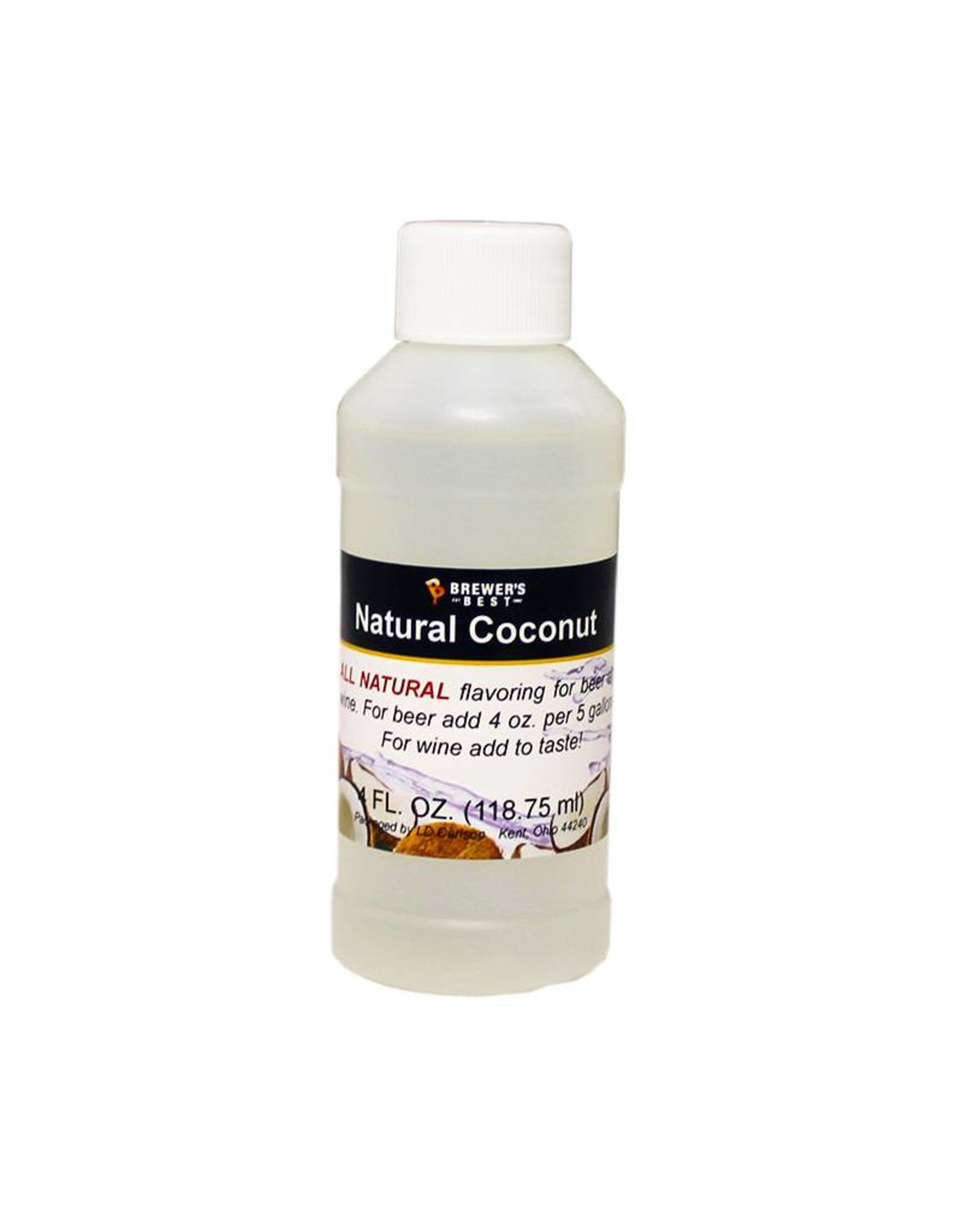 XYZ Natural Coconut Flavor Extract