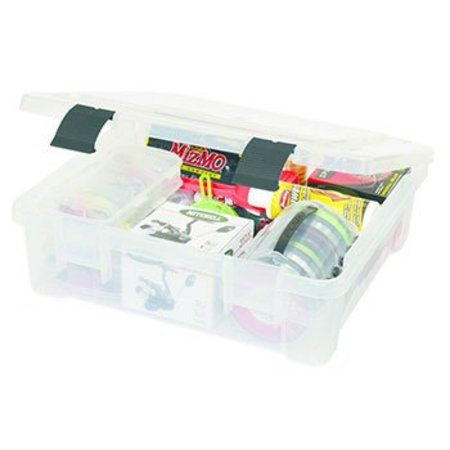 Plano 7080-01 Pro Latch XXL Stowaway Clear With No Dividers