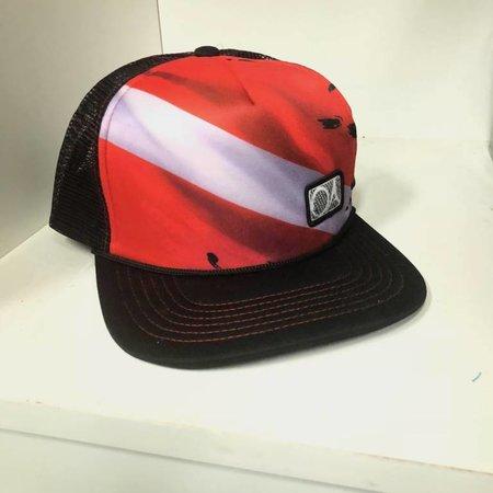 Outdoor Addictions Dive Flag Trucker Hat