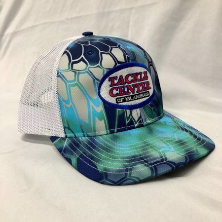 Tackle Center Green/Blue Pontus/White Hat with Snap