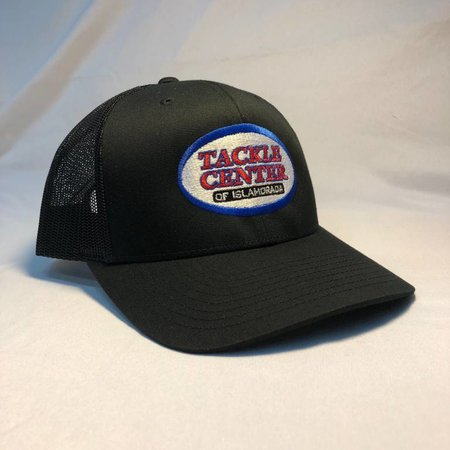 Tackle Center Hat Black/Black Mesh